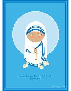 Blessed Mother Teresa by Shining Light Dolls