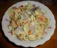 śledzie - PrzyslijPrzepis.pl Potato Salad, Potatoes, Chicken, Meat, Ethnic Recipes, Food, Beef, Potato, Meals
