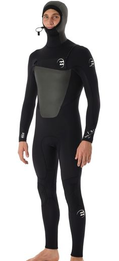Billabong Foil Wetsuit Men's 5/4mm 504 Hooded Chest Zip GBS Full WetsuitLight and flexible, the Billabong 504 Foil wetsuit offer a high level of warmth, performance and resiliency at a value price. Built with our exclusive Airlite S Flex Superflex...