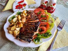 Ratatouille, Cobb Salad, Pork, Beef, Ethnic Recipes, Red Peppers, Kale Stir Fry, Ox, Pork Chops