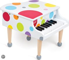 Confetti Grand Piano and thousands more of the very best toys at Fat Brain Toys. Sized just right for the littlest maestros in the family, this colorful, wooden, tiny grand piano is sure to spark a passion for learning and play. Toddler Toys, Kids Toys, Children's Toys, Toddler Fun, Kids Tool Box, The Piano, Traditional Toys, Musical Toys, Cute Toddlers