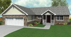 Modular Home Floor Plan  Sq. Ft.: 	1,547  Bedrooms: 	3  Bathrooms: 	2  Levels: 	1
