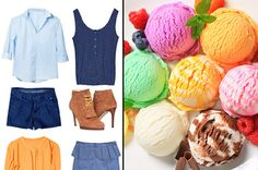 Make an outfit and see what Ice cream flavor you are