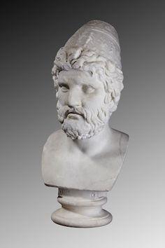 Marble head of Odysseus - Roman AD 75-125