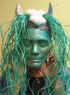 student plaster gauze masks - Google Search