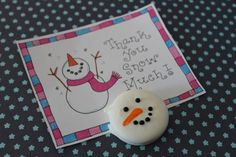 Thank you gift, how to make, along with free printable. Perfect for the wintertime, like right now. happyhomefairy.com