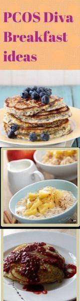 PCOS Diva breakfast recipes!