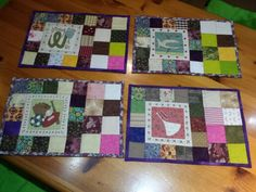 Posa-platos de patchwork