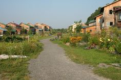 Song Neighborhood Summer, cool little neighborhoods, cohousing, ecovillage at Ithaca NY, 175 acres, 90% open space