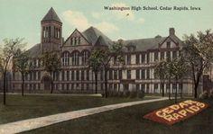 cedar+rapids+1920s | IA Cedar Rapids Washington High School