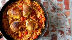 <p>Makkelijk eenpansgerecht</p> Paella, Cauliflower, Bbq, Vegetables, Ethnic Recipes, Desserts, Food, Salad, Barbecue