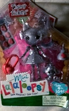 ❤❤Mini Lalaloopsy Doll - Tinny Ticker like the Tin Man wizard of oz