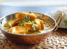low-fat Chicken Korma recipe with hidden vegetables for kids