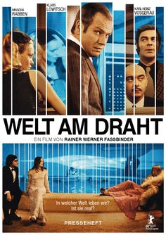 Welt am Draht (Aka World on a Wire) (1973) (Rainer Werner Fassbinder)
