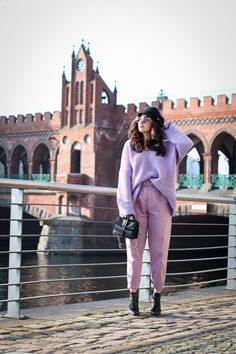 All-Lilac Outfit | 2018 Colour Trend Style
