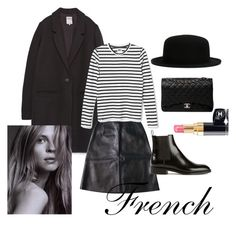 """French"" by andthisisthereasonwhy ❤ liked on Polyvore featuring Zara, Chloé, Chanel and Yves Saint Laurent"