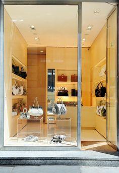 Serapian | Luxury leather goods made in Milan #shopping #milan #accessories #serapian http://montenapoleone.wheremilan.com/serapian/