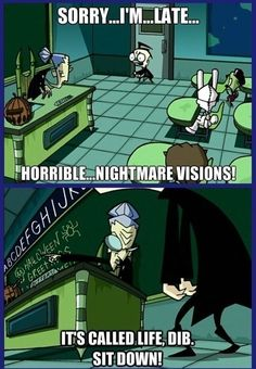 Funny scene from Invader Zim