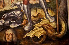 The dragon Santa Anastasia, Dragon, Painting, Beautiful, Art, Craft Art, Painting Art, Kunst, Dragons