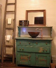 41 Best Repurposed Vanities Images Bathroom Repurposed