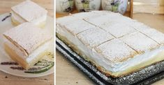 felho-kremes Vanilla Cake, Feta, Camembert Cheese, Food And Drink, Cooking Recipes, Pudding, Sweet, Rum, Tattoo