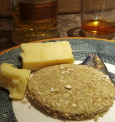 Oatcakes. Recipe from Traditional Scottish Cooking by Eleanor Cowan.