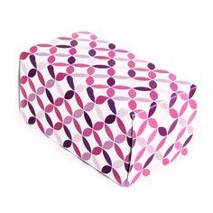 Caja con solapas 16x8x8cm - Purple