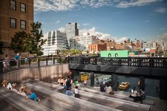 The Urban Theater at the High Line Park by Chimay Bleue, via Flickr