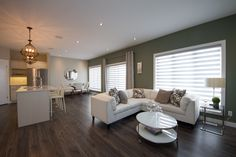 """Signature Homes - Home Builders """"Our Signature is our Guarantee."""" A home builder company in Winnipeg, Manitoba that is guaranteed to build your dream home. Living Area, Living Room, Willow Creek, Build Your Dream Home, Open Concept, Home Builders, Dining Table, Furniture, Home Decor"""