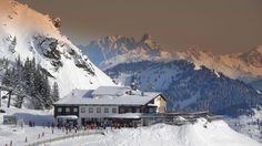 Bergstation Kleine Scharte im Skigebiet Bad Hofgastein Mount Everest, Mountains, Winter, Nature, Travel, Pictures, Destinations, Viajes, Winter Time