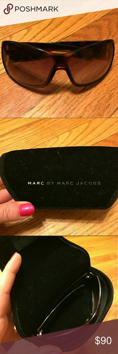 Marc Jacobs Sunglasses Marc by Marc Jacobs Tortiseshell Sunglasses with case Marc Jacobs Accessories Sunglasses