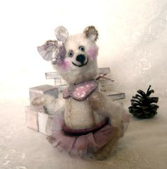Teddy Bear Rosie in Pink! by Mara+Grishina