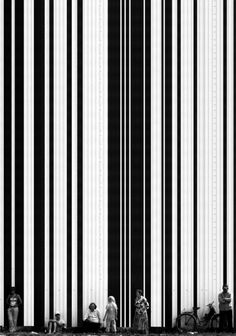 black and white stripes - Aleksei Bedny Black N White, Black White Photos, Black And White Photography, People Photography, Street Photography, Art Photography, Geometric Photography, Light And Shadow, Illustration