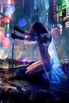 Tagged with art, cyberpunk; Shared by Cyberpunk art dump Arte Cyberpunk, Cyberpunk 2077, Cyberpunk Anime, Art Anime, Manga Art, Anime Artwork, Manga Anime, Shadowrun, Sci Fi Art