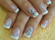simple french manicure nail designs