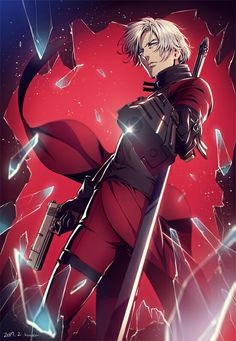 Dante - Devil May Cry - Image - Zerochan Anime Image Board Character Concept, Character Art, Character Design, Cry Anime, Anime Art, Girls Anime, Anime Guys, Dante Anime, Manga