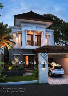 interior home design Simple House Design, House Front Design, Minimalist House Design, Dream Home Design, Minimalist Home, Modern House Design, 2 Storey House Design, Modern Tropical House, 3d Home