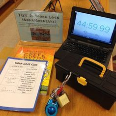 Have you heard about the new craze in education known as BreakoutEDU? If you have not heard of BreakoutEDU before, I will try to do my bes. Breakout Game, Breakout Edu, Breakout Boxes, Escape The Classroom, Future Classroom, School Classroom, Escape Room, Detective, Library Activities