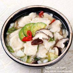 [비오는날 음식] 감자 넣어 더욱 쫄깃한 수제비만들기 – 레시피 | Daum 요리