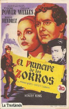 Programa de Cine - El Príncipe de los Zorros