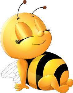 Biene_sitzend_links_Augen_zu Милые Рисунки, Иллюстрации С Пчелами, Искусство Из Насекомых, Роза Иллюстрации, Вечеринка В Пчелином Стиле, Компьютерная Живопись, Смешные Рисунки, Мультфильм, Улыбающиеся Животные