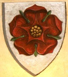 Armes des Rožmberk, Bohême du sud, République tchèque (armes parlantes). -- Peinture murale, au château de Český Krumlov.