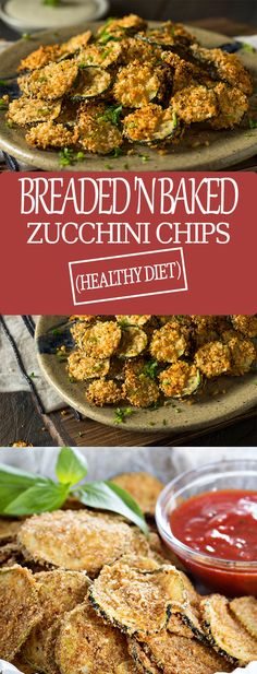 Healthy Breaded 'n Baked Zucchini Chips – Lose Weight in Kitchen