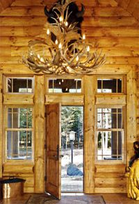 Large Reproduction Antler Chandeliers from CDN Antler created by highly skilled, experienced craftsmen. Providing quality lighting and antler furniture since 1997 Antler Chandelier, Chandeliers, Cozy Cabin, Nook, Rustic Decor, Craftsman, Ceiling Lights, Log Cabins, Lighting