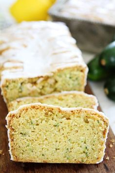 Lemon Zucchini Bread Recipe on twopeasandtheirpod.com The BEST zucchini bread recipe. It is super moist and the burst of lemon is amazing!