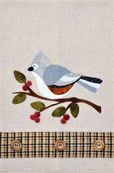 P23 Tufted Titmouse Patternlet