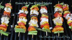 Easy Kabobs for summer dinner