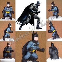 #cake #fondant #handmade #batman