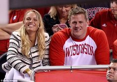 New couple alert: Caroline Wozniacki and JJ Watt are reportedly dating according to Us Weekly