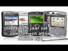 Technologische ontwikkelingen: Over 10 jaar iedereen altijd online. Internet of evertything